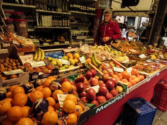 Chef Cosimo at the Market Photo by Paula Sweet
