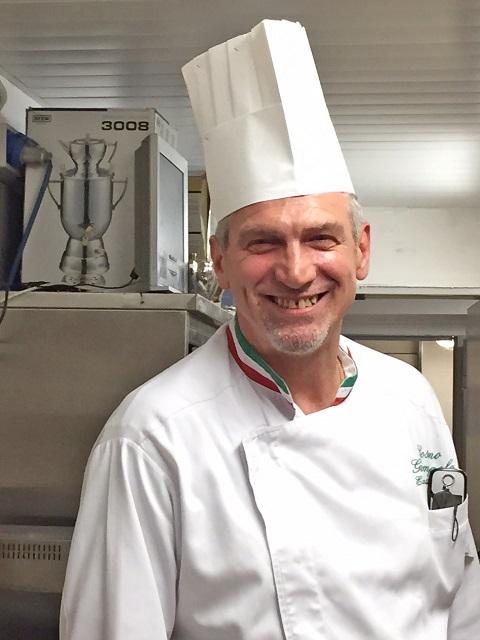 Luna Hotel Baglioni Chef Cosimo - Photo by Margie Miklas