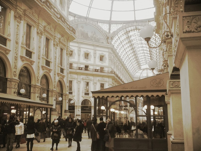 Milan Galleria Photo by Diana Skok Corridori