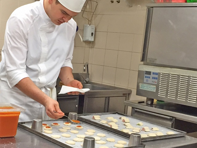 Pastry Chef - Photo by Margie Miklas
