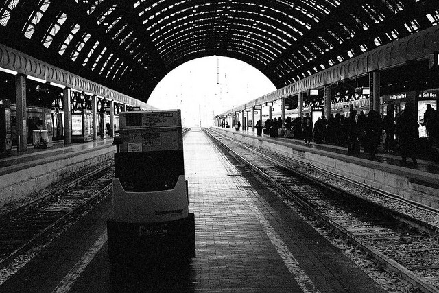Milan Train station  Photo by Ric Capucho