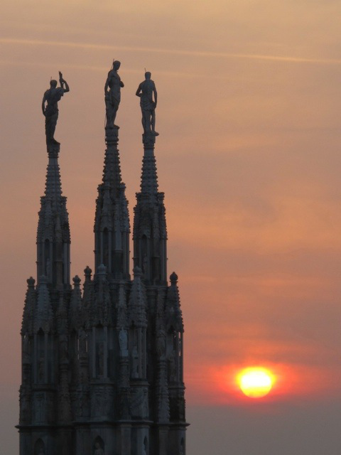 Sunset at the Duomo - Photo by Debra Kolkka