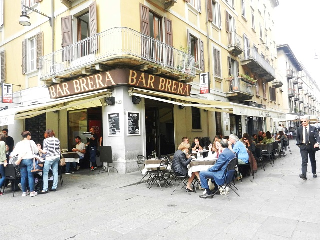The trendy La Brera neighborhood in Milan - Photo by Margie Miklas