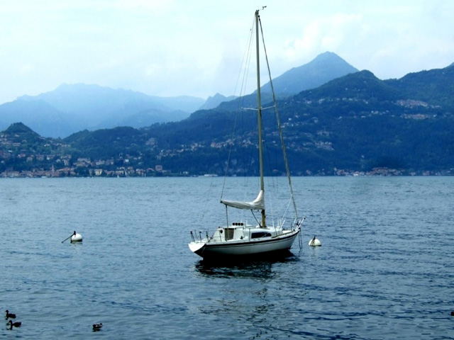 Lake Como from the shore of Varenna - Photo by Margie Miklas