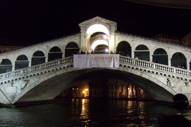 Rialto Bridge at night - Photo by Margie Miklas