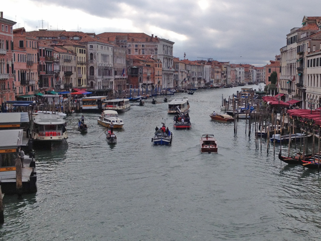 Venice and the Grand Canal - Photo by Aaron Crossley