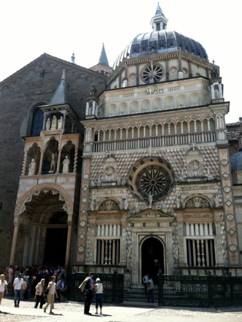 Bergamo Torre Civica in Piazza Vecchia Photo by Mrgie Miklas