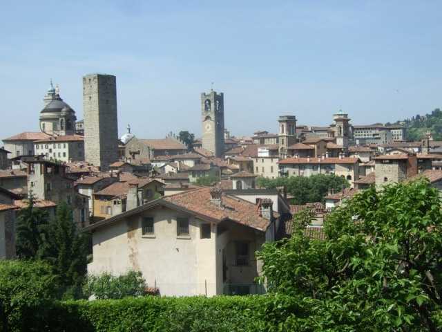 Bergamo View from La Rocca Photo by Margie Miklas