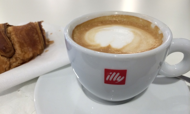 Illy Coffee - Photo by Penny Sadler