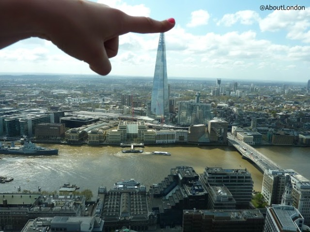 Shard in London Photo by Laura Porter