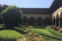 San Lorenzo - cloister Photo by Victoria DeMaio