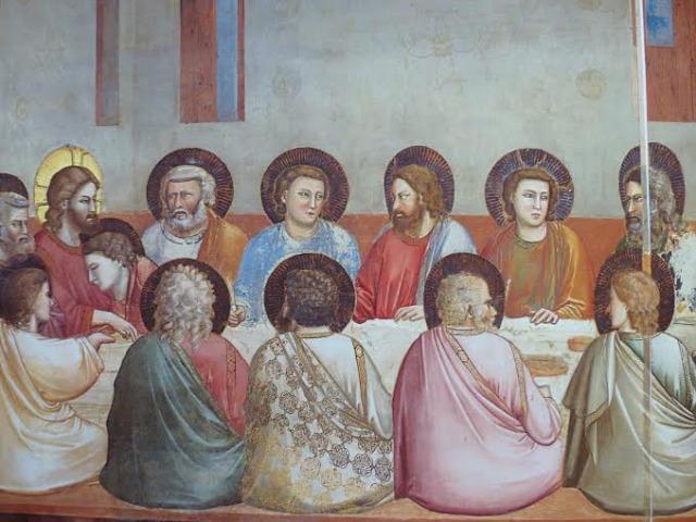 Giotto fresco in the Scrovegni Chapel Photo by Debta Kolkka