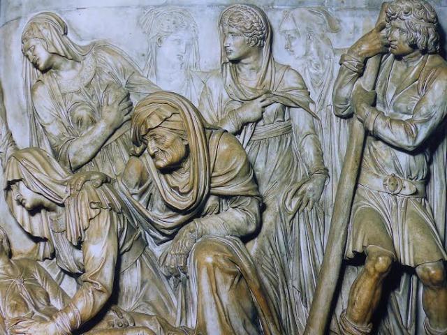 High reliefs in Saint Anthony's Basilica Padua Photo by Debra Kolkka