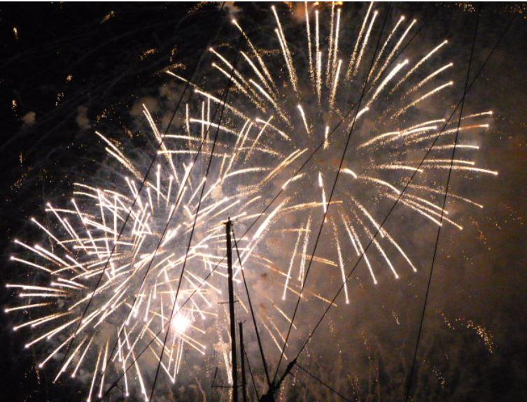 Redentore Fireworks -Photo by Karen Henderson