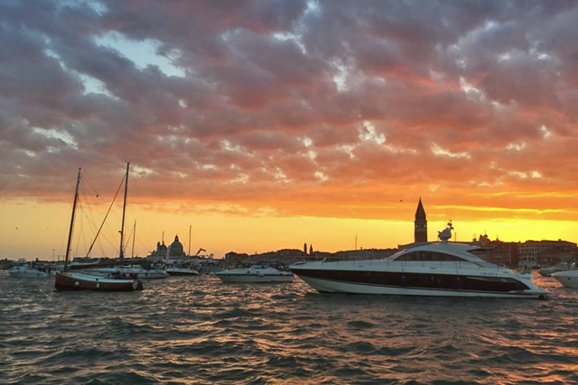 Redentore Sunset Photo by Stefania Matarrese