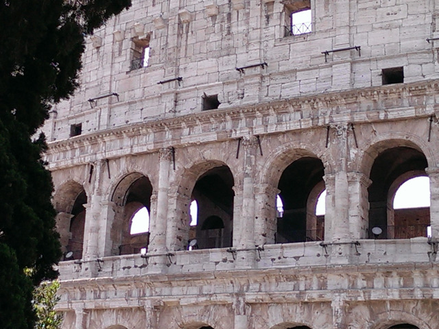 Rome Colosseum Photo by Marilyn Ricci