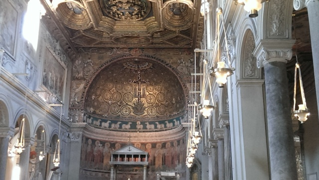 Basilica of San Clemente in Rome photo by Marilyn Ricci