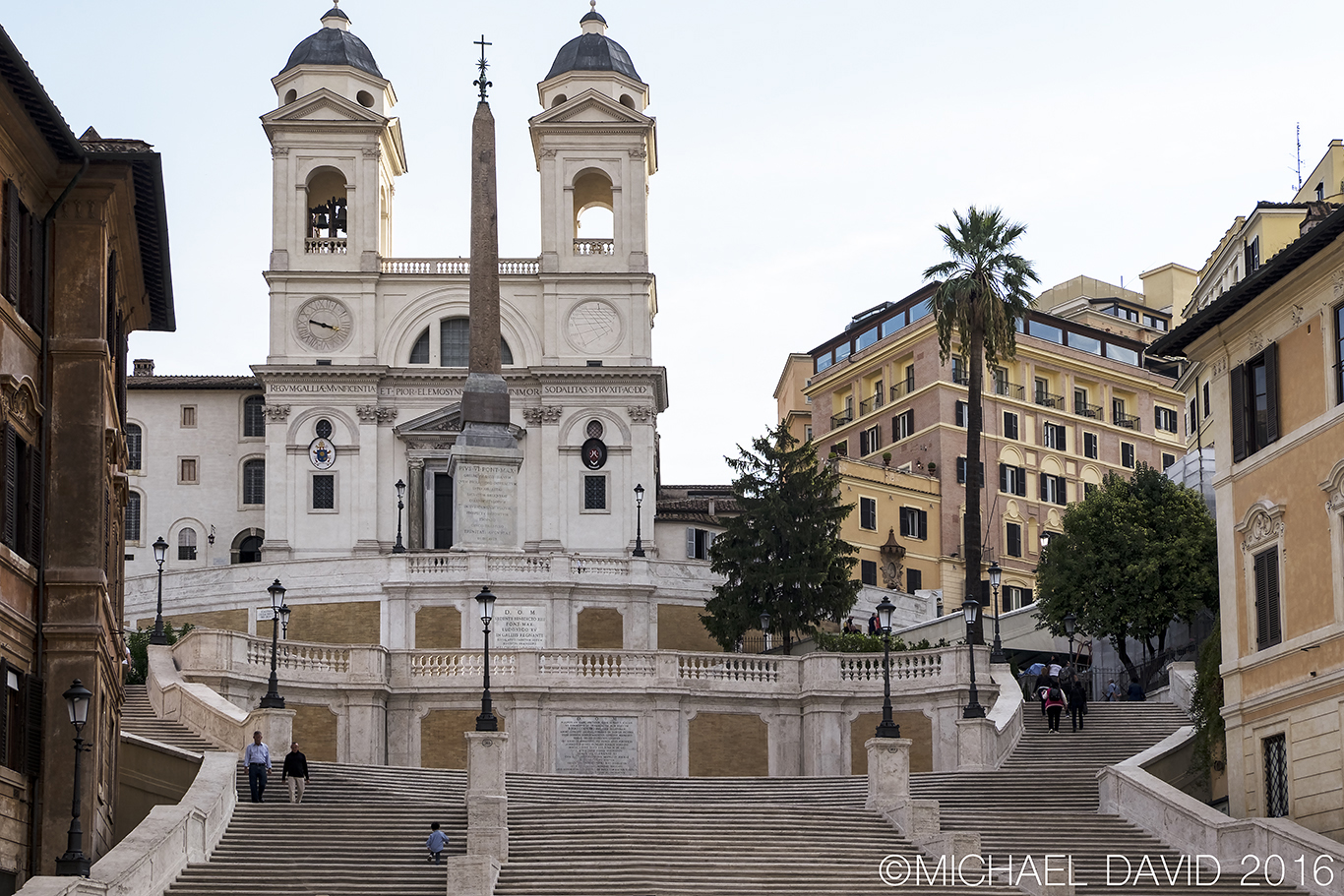 The Spanish Steps Rome Photo by Michael David