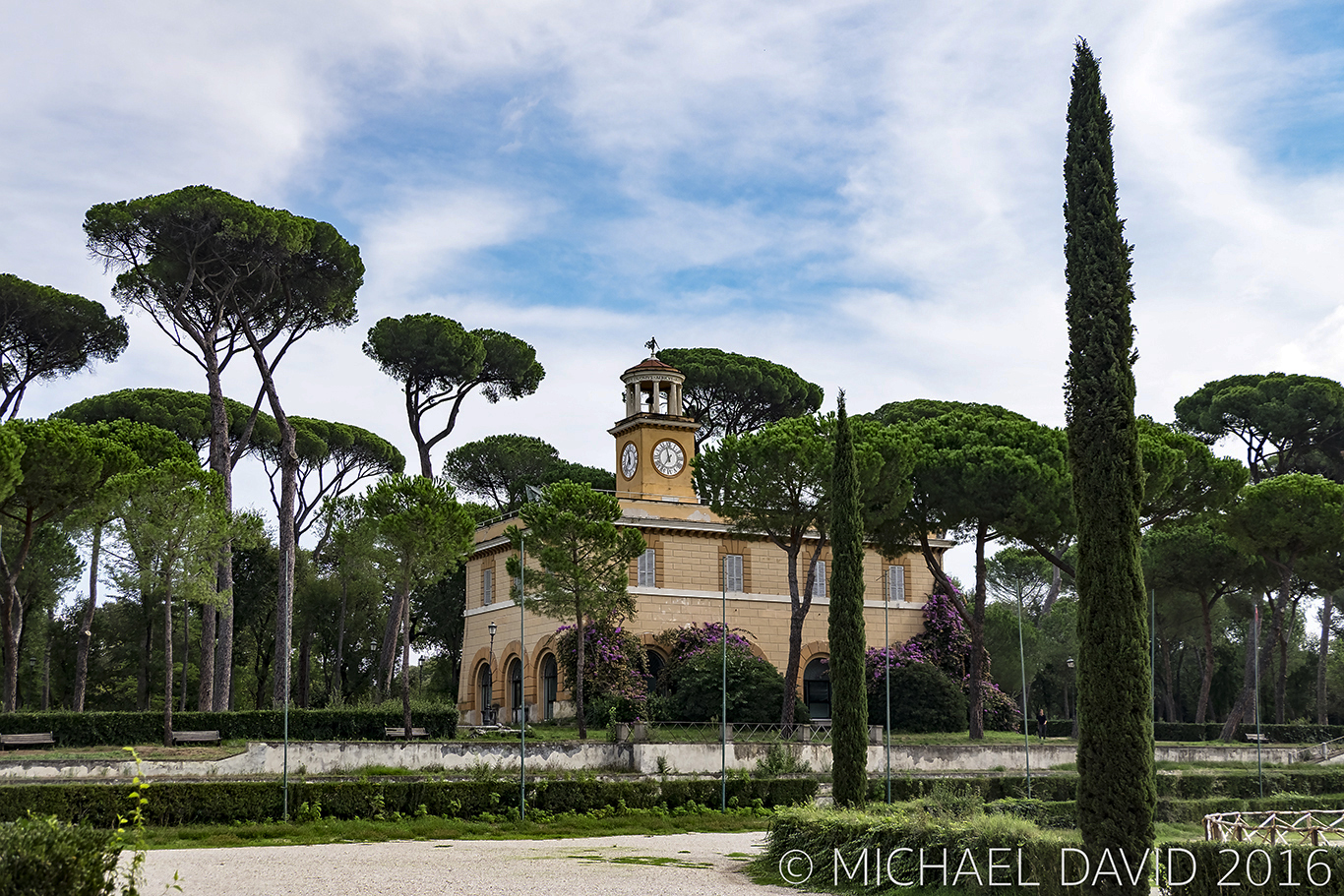 Borghese Gardens Rome Photo by Michael David