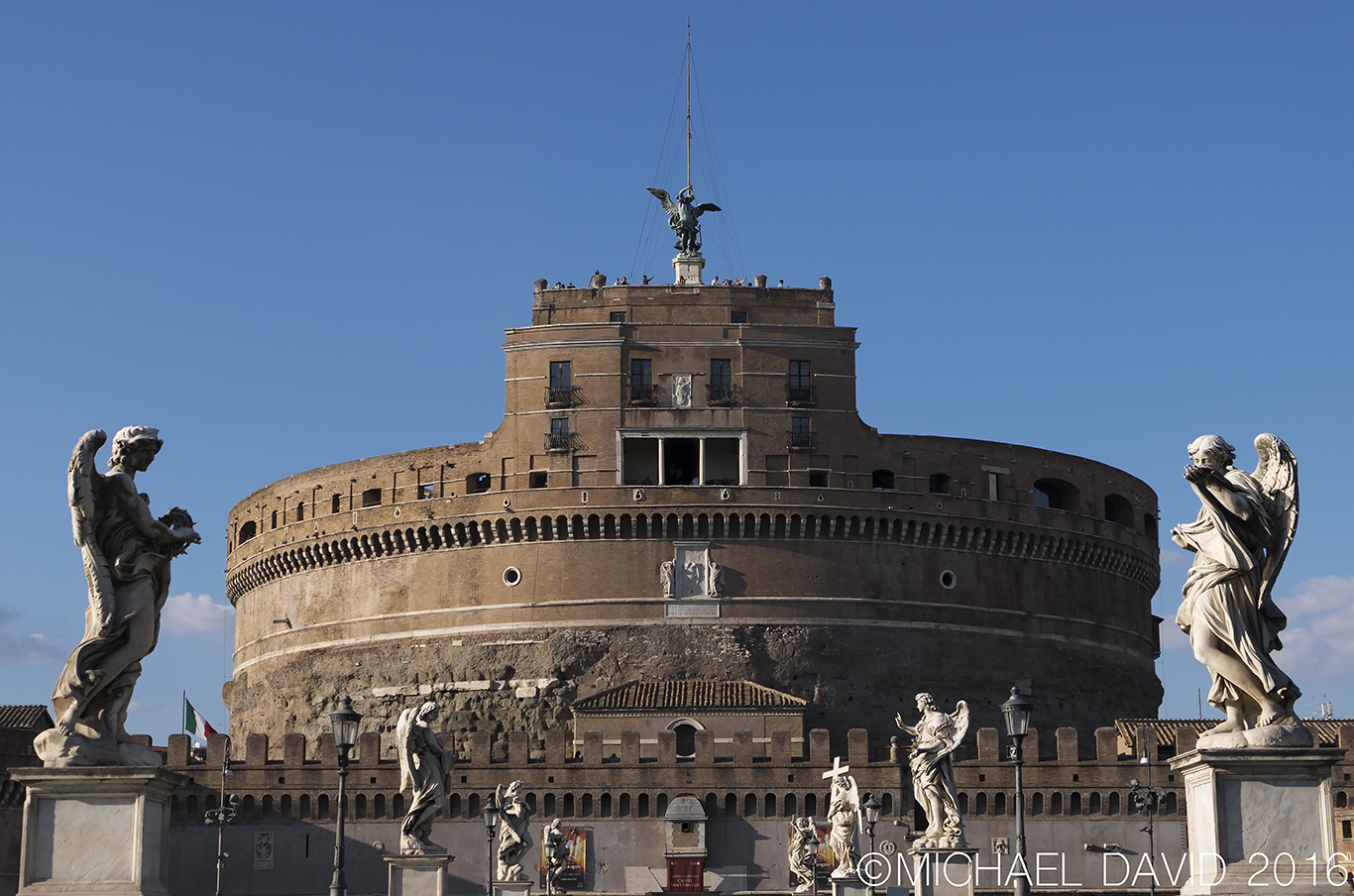 Castel Sant'Angelo Rome Photo by Michael David