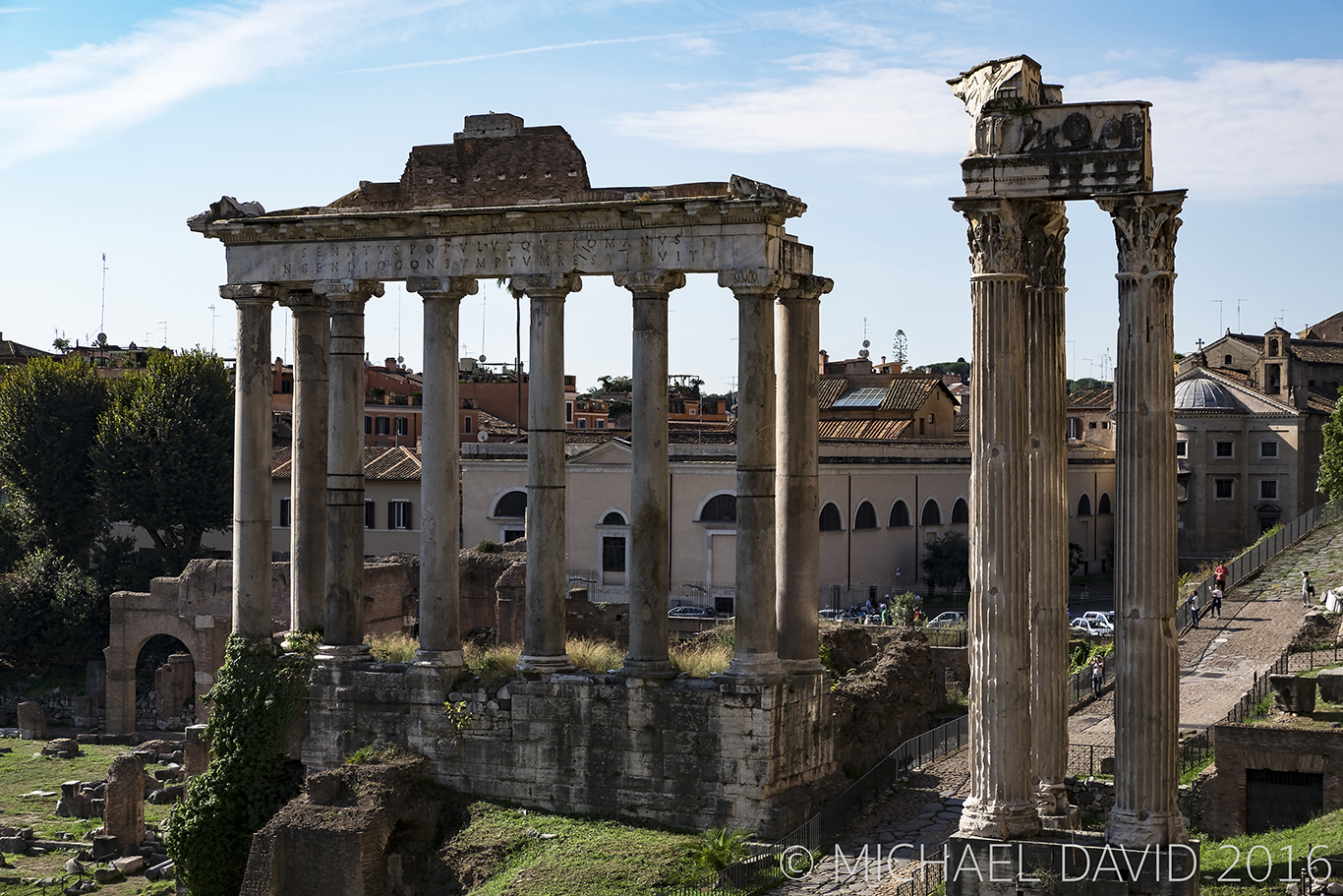 Forum Rome Photo by Michael David