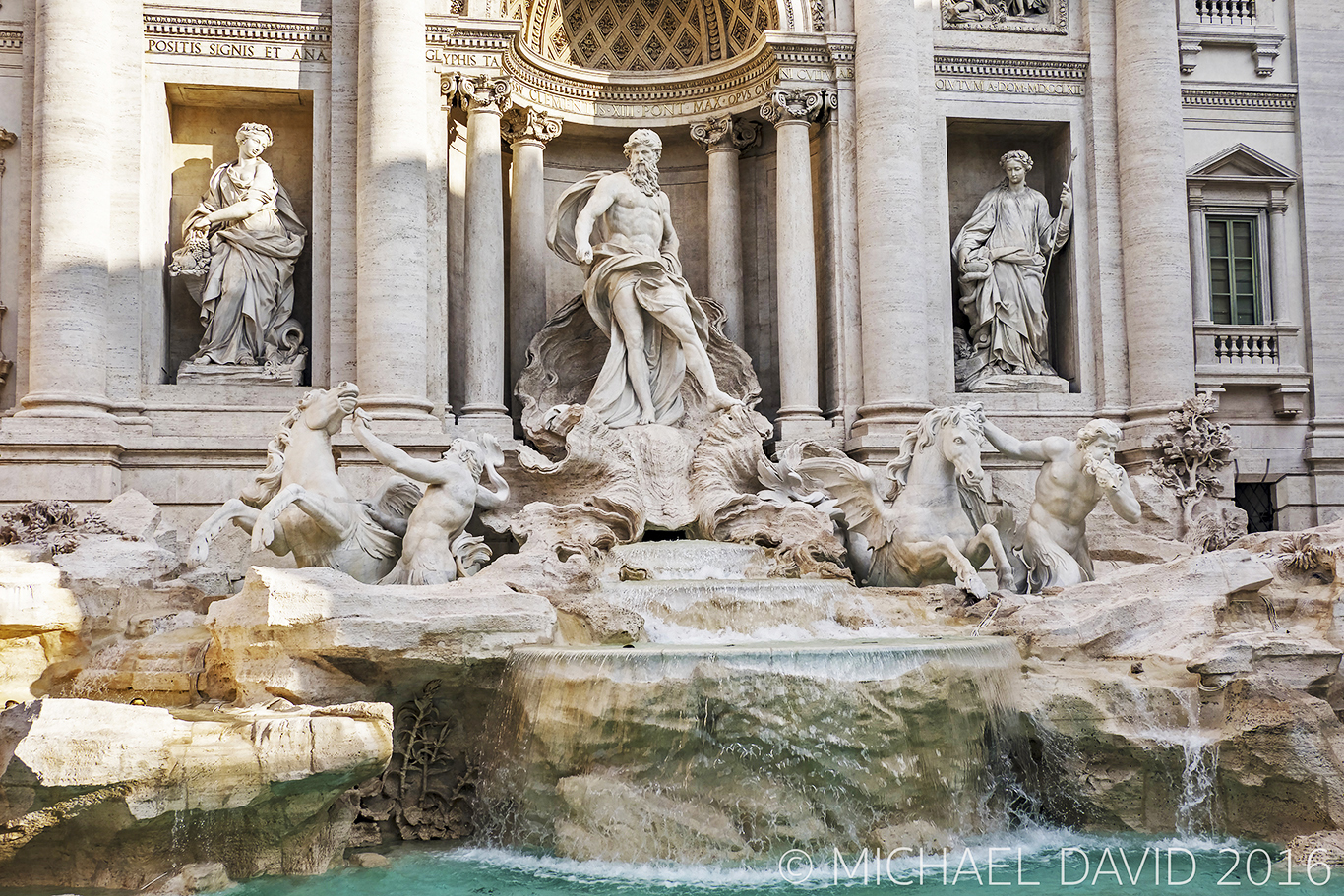 Trevi Fountain Rome Photo by Michael David