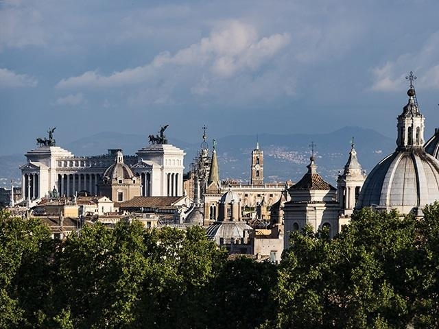 Rome Panorama Photo by Michael David