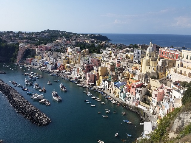 Procida Marina Corricella  Photo by Karen Henderson