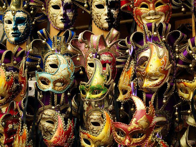 Carnevale in Venice Masks