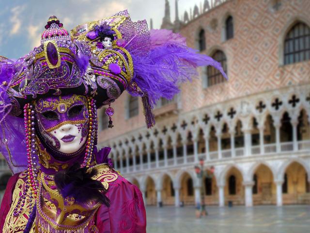 Venice Carnevale masks