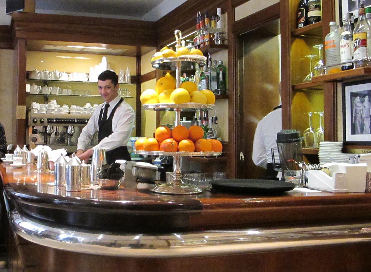 Caffe Giacosa Photo by Debra Kolkka