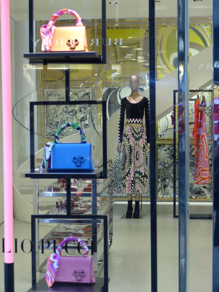 Pucci  colour and handbags Photo by Debra Kolkka