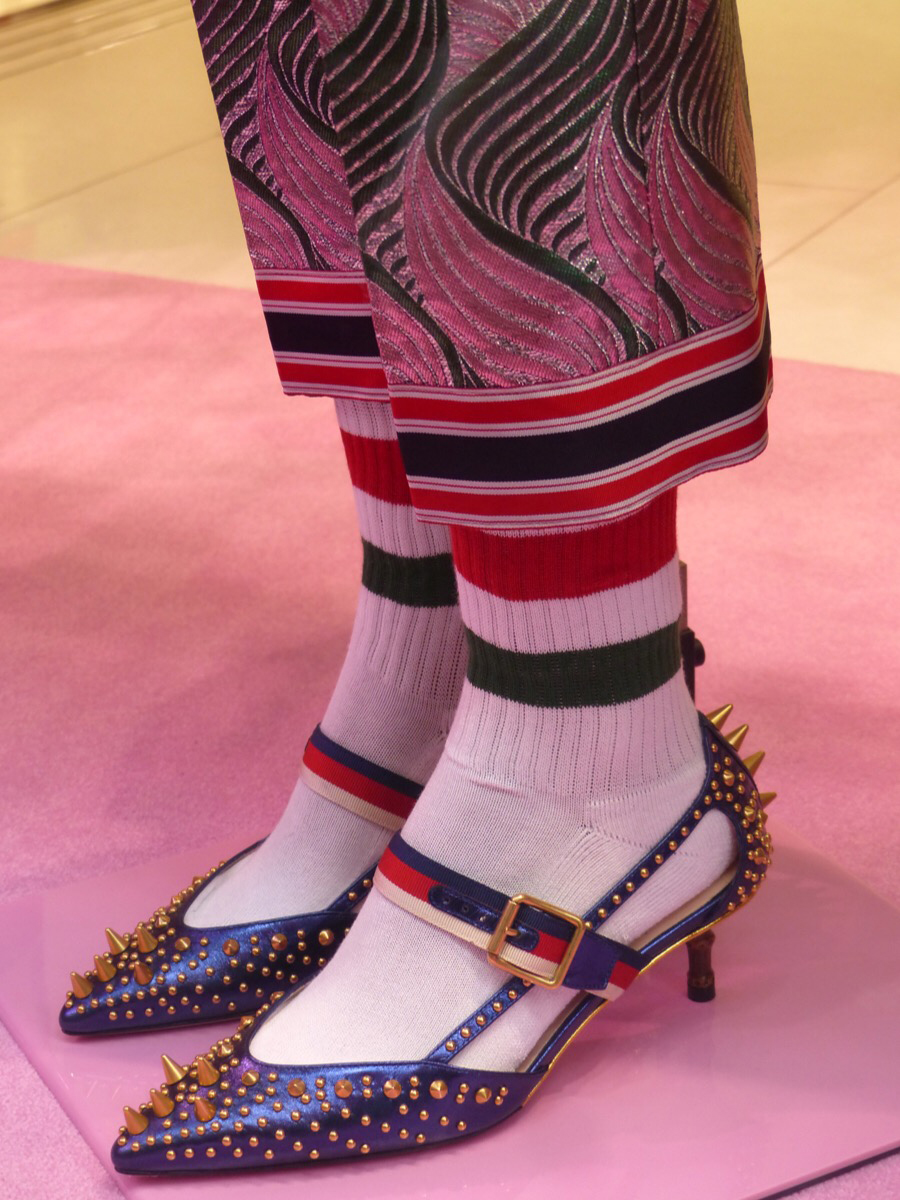 Gucci Shoes with Socks Photo by Debra Kolkka