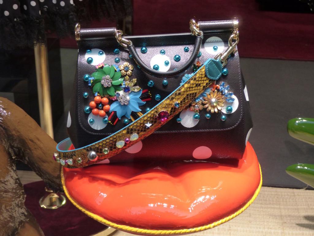 Dolce & Gabbana  Accessories  Photo by Debra Kolkka