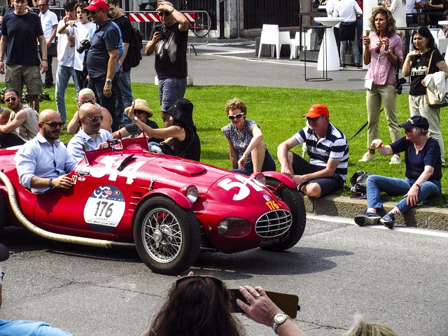 Rulers  of the Road Mille Miglia photo by Paula Sweet Stanley