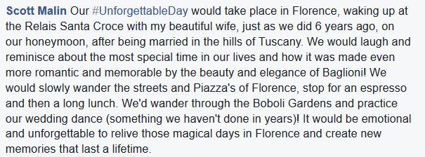 #UnforgettableDay