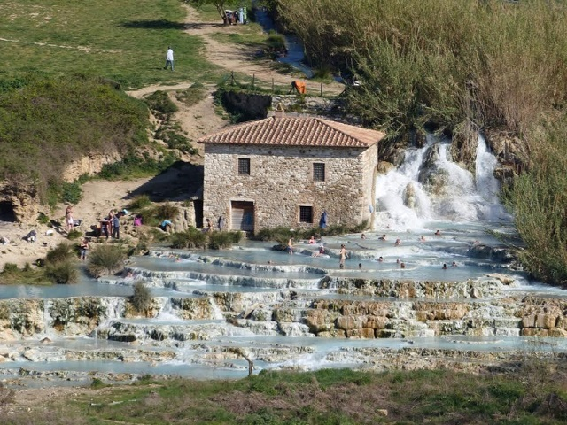 Saturnia Thermal Springs Photo by Debra Kolkka