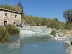 Saturnia on a spring day