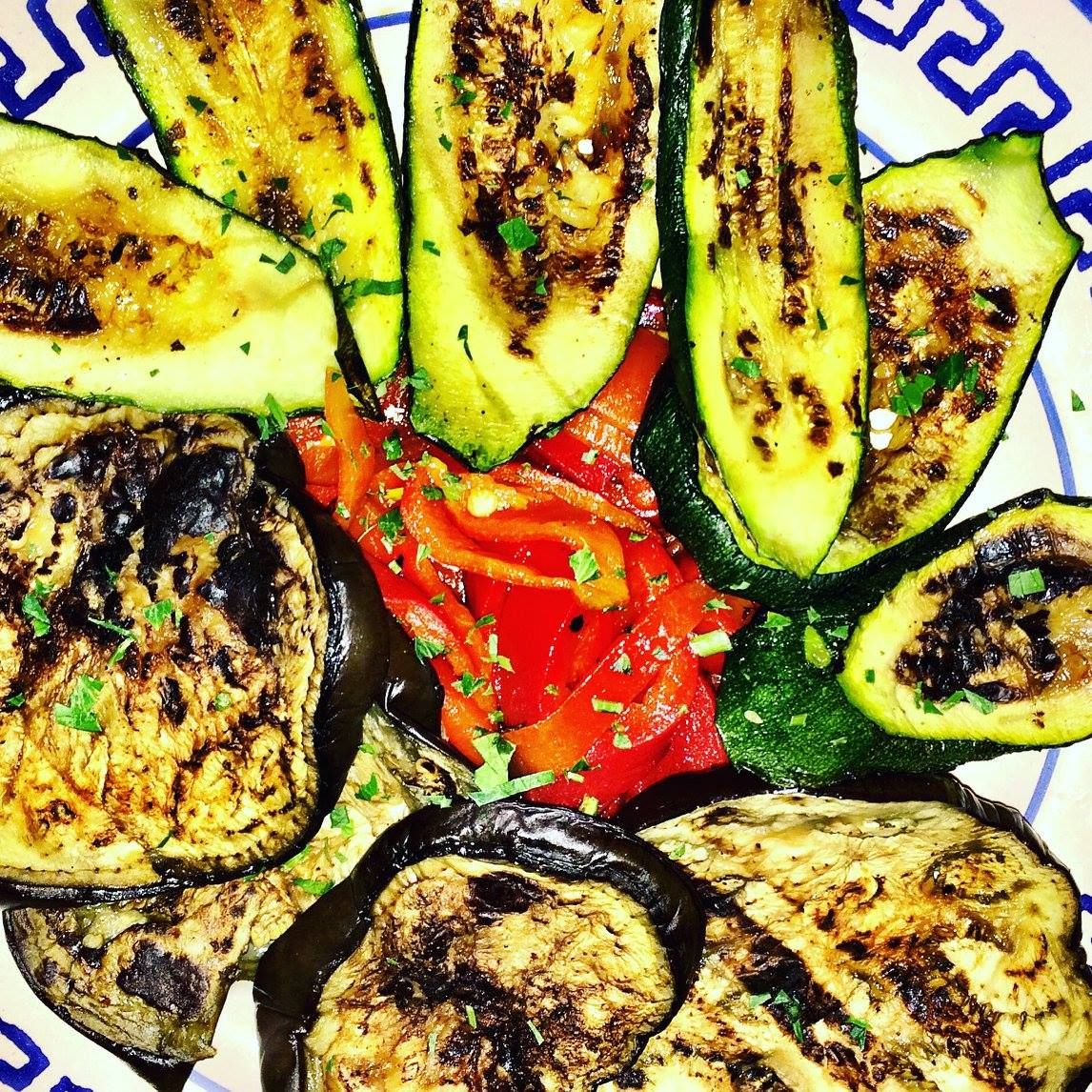 Grilled vegetables Photo by https://www.instagram.com/buona.forchetta/