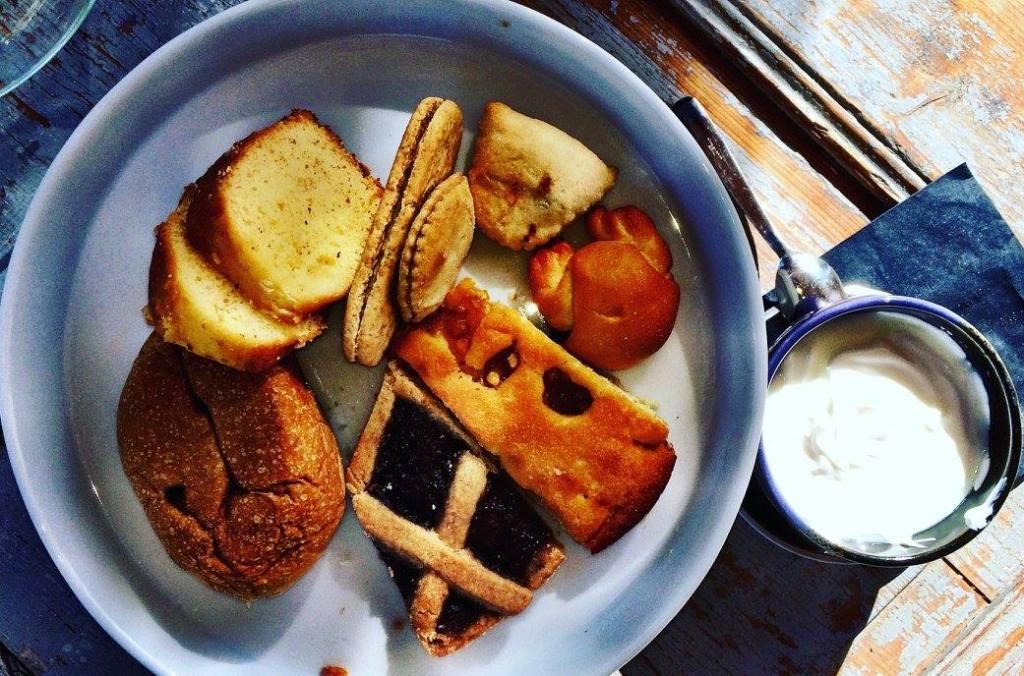 Breakfast at Le Miniature Photo by  https://www.instagram.com/buona.forchetta/