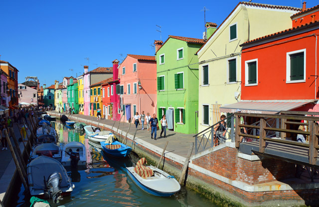 Burano  Photo by Marilyn Jones