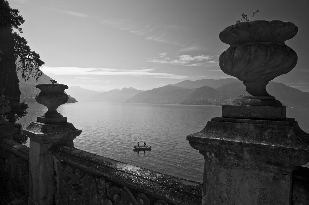 Two fisherman Lake Como Photo by Michael David