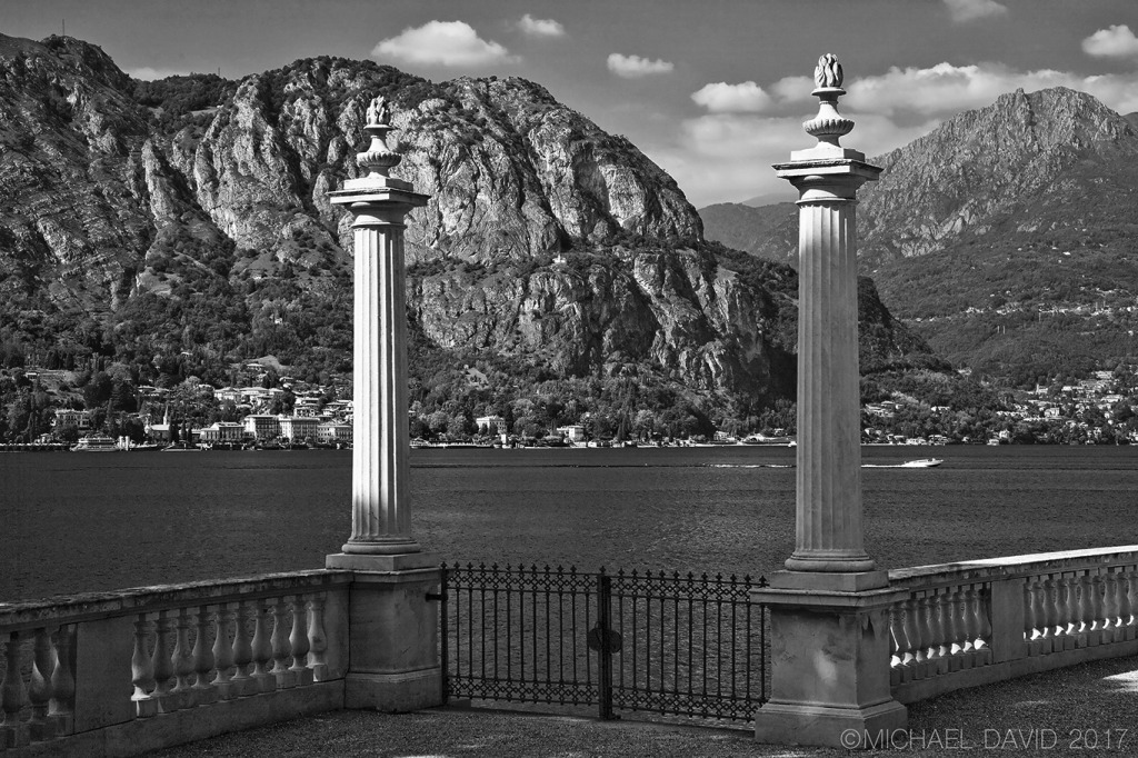 Gardens at Villa Melzi Lake Como
