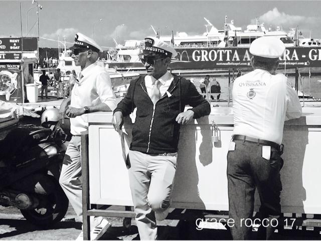 Capri gentlemen by Grace Rocco