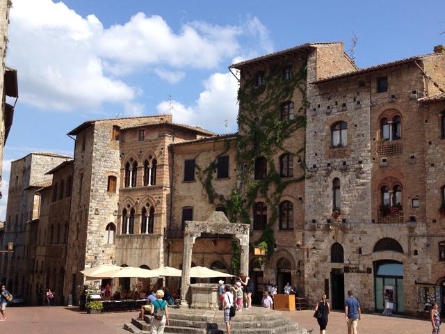 San Gimignano by John Fodera