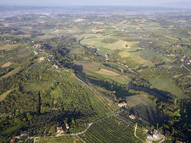 Toscana dall'alto