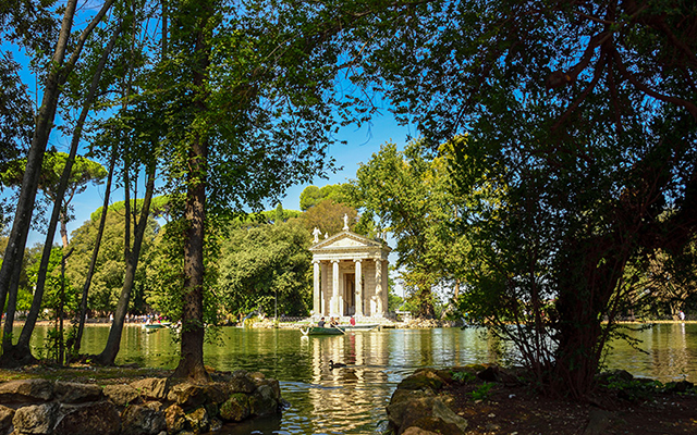 picnic at Villa Borghese