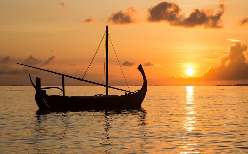 Sunset_Maldives_diving